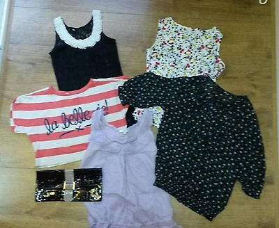 Ladies Tops bundle of 6 items mainly NEW LOOK,  size UK 8