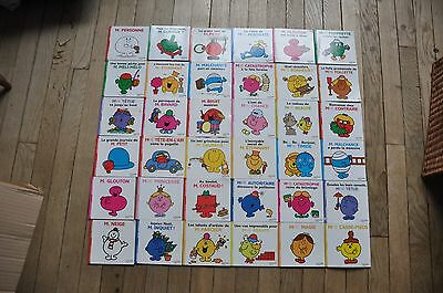 Lot de 36 livres monsieur madame Roger Hargreaves