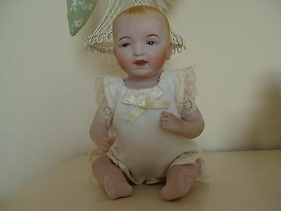 reproduction porcelain 8 inch  robie doll