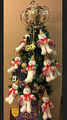 """Mardi Gras Throws 10 MR BINGLE 2016 10"""" Plush Stuffed New Without Tags Orleans"""