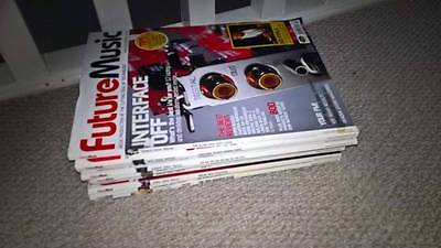 Job Lot Bundle of 11 Future Music Magazines Can Post or Can Collect
