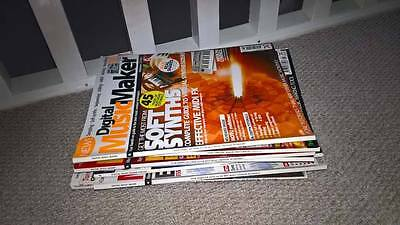 Job Lot Bundle of 10 Magazines Digital Music Maker + More Can Post / Can Collect