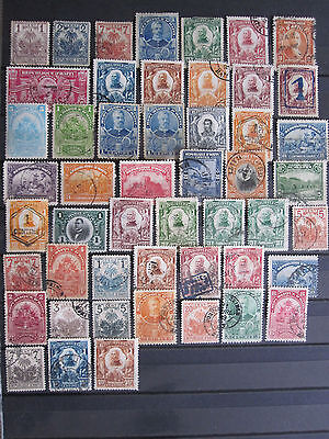 Haiti - 50 mostly used older stamps - some duplication - see pictures