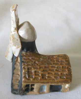 Tremar or Similar Art Pottery Stoneware Collectable Ornament, Windmill, c.1960's