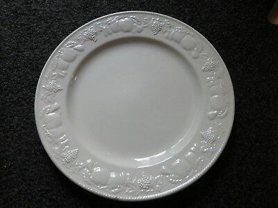 1 X  Bhs Lincoln Large Round Platter Plate 12.25 Inches
