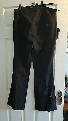 size 12 black maternity trousers