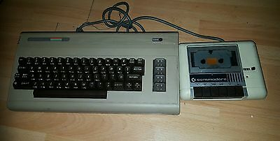 VINTAGE COMMODORE 64 CONSOLE Not Tested loft find