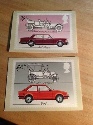 Rolls Royce Ford Stamps First Day Issue Postcard