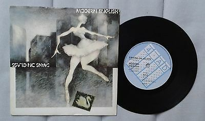 "Modern English Swans on Glass 7"" 4AD Cold wave post punk"