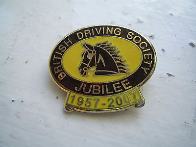 Horse badge - British Driving Society Jubilee