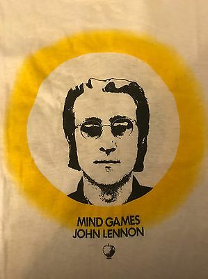 The Beatles Apple Records Mind Games T-shirt 1973