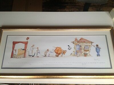 Claire Minter Kemp signed limited edition print