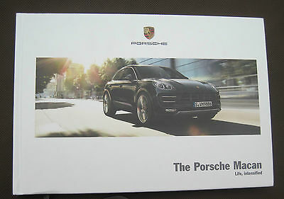 Porsche Macan Promotional Book - Australian Specifications - March 2015