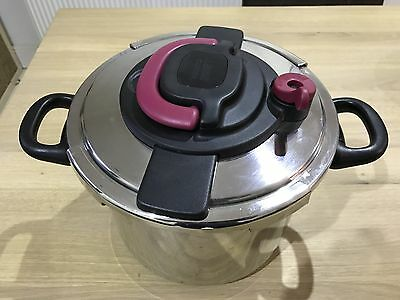 SEB Tefal Clipso Plus 10 Litre Pressure Cooker used once
