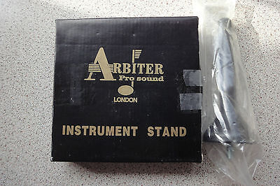 Arbiter heavy base clarinet/flute stand NEW