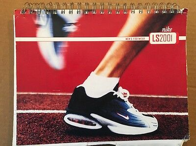 Nike Footwear LS 2001 Dealer CATALOG. Mens & Womens about 270 pages