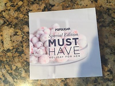 SOLD OUT Popsugar Holiday For Her 2015 Box - New!