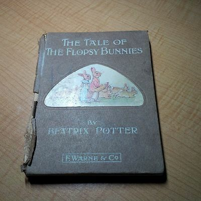 Beatrix Potter Book The Tale of The Flopsy Bunnies First Edition?
