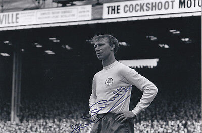 JACK CHARLTON Signed Photo LEEDS UNITED Autograph Memorabilia