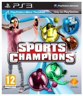 Sports Champions (Sony PlayStation 3 PS3) - European Version Brand New &  Sealed