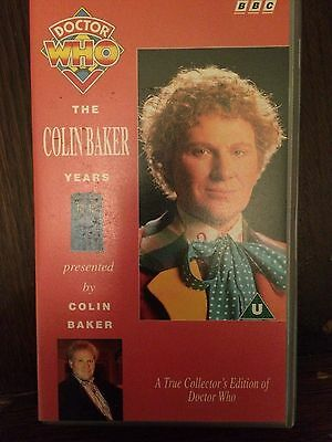 Doctor Who VHS - The Colin Baker Years