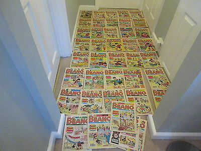 BEANO COMICS  x 40 from 1990-Job Lot- condition-including  No 2500