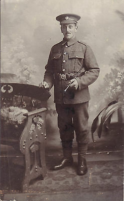 WW1 soldier Devonshire Regiment