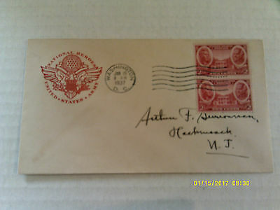 FDC House of Farnam #786 Army stamp pair