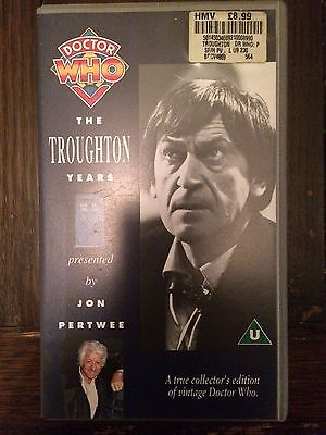 Doctor Who VHS - The Troughton Years