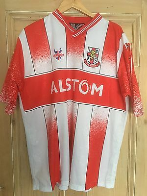 Lincoln City official home shirt  2001/02 Football League Division 3