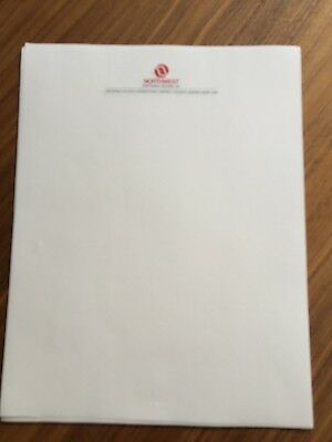 Northwest Airlines Stationary Set of 20 Sheets