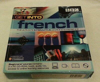 """BBC """"Get Into"""" French Interactive Course - Good Condition"""