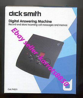 Phone  Digital Answering Machine - Dick Smith Cat: F4531