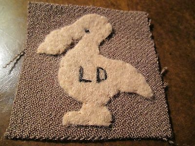 """WWI US Army patch 39th  Division Patch"""" Louisiana Pelican"""" AEF"""