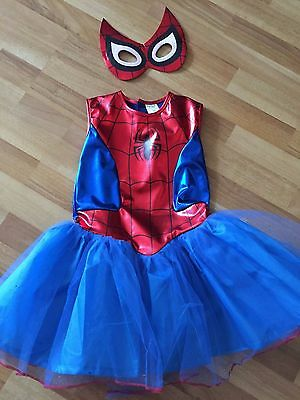 Spiderwoman costume for little girl - Sz 8-10yrs