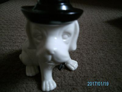Ceramic Dog Ornament With Hat So Adorable Brand New