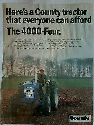 county 4000 four advert