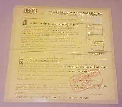 Ub40 - Signing Off Original Ub40 Debut Album 1980