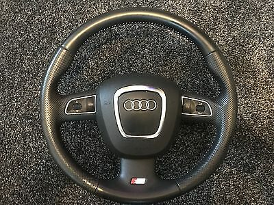 Audi A4 A5 B8 Sline Sport Steering Wheel And Airbag