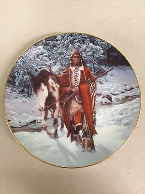 "1993 Hamilton Collector Plate ""Winter of '41"" from the last warriors collection"