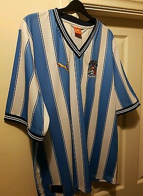 Coventry City Football Shirt 3XL FA Cup Commemorate edition
