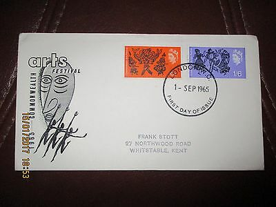 Gb 1965 Qeii Excellent First Day Cover - Arts (Ord)