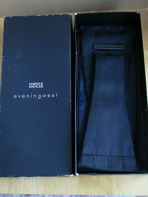 Marks & Spencer Tuxedo Cummerbund New condition
