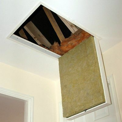 SD - Fire Rated Loft Hatch, Part L Compliant 755 x 555mm