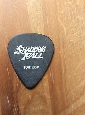 Shadows Fall Genuine Stage Used Guitar Pick. Collectable & Rare. L@@k