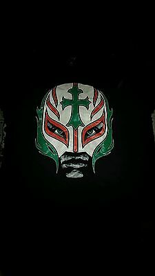 WWE official Rey Mysterio Booyaka t shirt XL