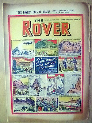 Comic- THE ROVER, No. 1387, 26 January 1952