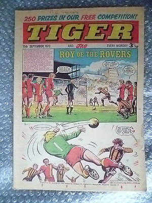 Tiger and Jag Comic, 15 September 1973; Roy of the Rovers