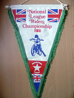Pennants- NATIONAL LEAGUE RIDERS CHAMPIONSHIP FINAL@ Wimbledon(apx.34x22 cm)