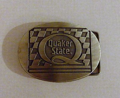 NEW Quaker State Belt Buckle  Removed from Packaging to take Photos